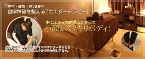東京にあるエナジテラピー専門のエステサロン|エナジーテラピーのイメージ